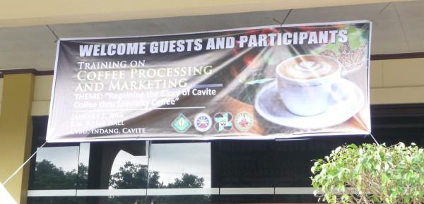 Cavite Coffee, seminar Jan2016 6