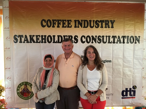 Stakeholder consultations were held which include PCBI's Princess and CQI's Ted Lingle and Lisa Conway